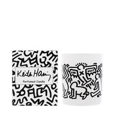 """Keith Haring"" scented candle"