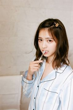 Japan Bans Flouride ,this doesn't help much. Cute Girls, Cool Girl, Young Magazine, Japan Girl, Japanese Models, Japan Fashion, Girl Model, Fashion Models, Beautiful Women
