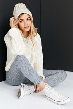KNITZ By For Love & Lemons Blizzard Legging #UrbanOutfitters - Discover Sojasun Italian Facebook, Pinterest and Instagram Pages!
