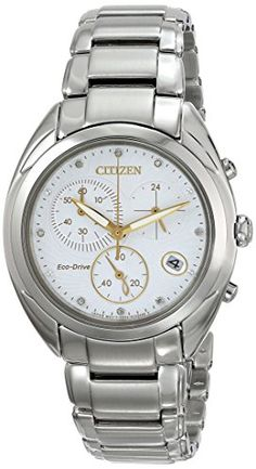 Citizen EcoDrive Womens FB139053A Celestial Analog Display Silver Watch. This is surely a great product!