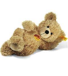 Peluche Ours Teddy Fynn beige 28 cm Steiff-Peluche.fr - La Boutique des peluches STEIFF en France #teddy #nounours #doudou