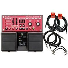 Hmmm.... Amazon.com: BOSS RC-30 Guitar Pedal Loop Station w/6 FREE Cables: Musical Instruments