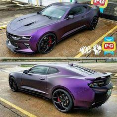 KPMF Matte Purple/Black Iridescent