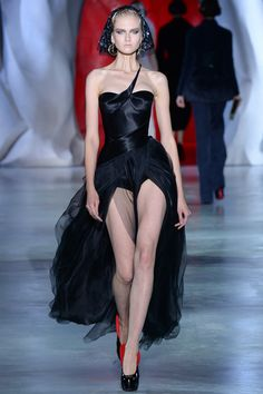 Ulyana Sergeenko | Fall 2014 Couture Collection | Style.com