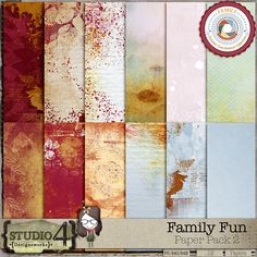 Personal Use :: Paper Packs :: Family Fun Paper Pack 2