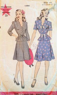 Hollywood Pattern 1388 (1944)
