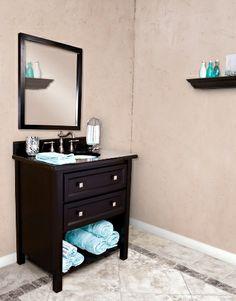 open bathroom vanity | bathroom vanity (pics) Help!! - Home Decorating & Design Forum ...
