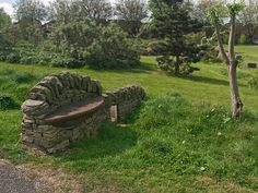A Sheffield Park Bench.