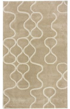 This is a great modern trellis rug made with New Zealand wool. Area rugs are getting more and more unique every year.
