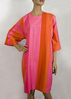 Marimekko cotton dress, 1960s, from the Vintage Textile archives.