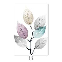 Color Splash Leaf Canvas – ClockCanvas Canvas Painting Designs, Painting Prints, Canvas Paintings, Minimalist Painting, Minimalist Poster, Images D'art, Canvas Wall Art, Canvas Prints, Wall Art Prints