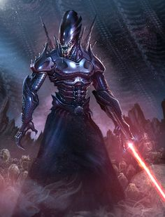The hand that feeds: Xenomorph Sith by Clinton Felker