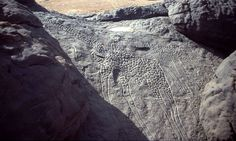 The Dabous Giraffes are a neolithic petroglyph by an unknown artist. Completed between 9000 BC and 5000 BC, the giraffe carvings were first documented by David Coulson in 1997 while on a photographic expedition at a site in Niger, Africa.