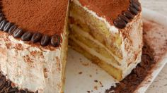 Turn your favorite Italian restaurant treat into a spectacular cake, starting with a cake mix and coffee. This is a great make-ahead recipe, since the cake tastes better the longer it sits.
