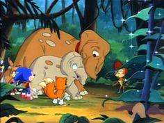 Sonic the Hedgehog (SatAM) Episode 13 - Sonic Past Cool