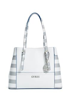 Delaney Striped Shopper Tote  b128b7d1bfdf2