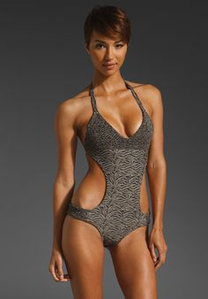 TORI PRAVER SWIMWEAR Mary Jane One Piece.  Resort time!