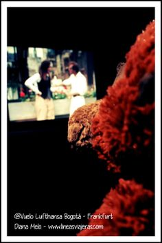 Marco Polo viendo Annie Hall de Woody Allen en Frankfurt Airport (FRA)