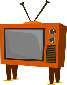 a crying retro tv set tv sets rh pinterest com clipart télévision clipart watching television