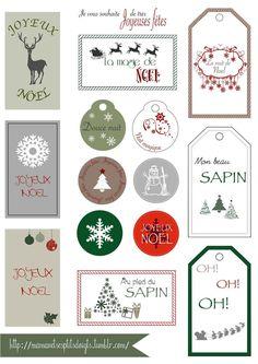 Etiquette de Noel à imprimer sur http://mamanetsesptitsdoigts.tumblr.com/: