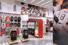 Sports Store | Retail Design | Shop Interior | Sports Display |