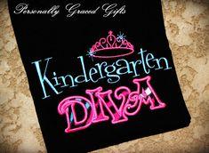 PreK+Preschool+Kindergarten+Day+Care+Diva+by+PersonallyGraced,+$25.00