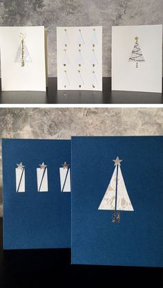 Last Minute DIY Christmas Cards In 3 Easy Steps | Click for 20 DIY Christmas Card Ideas for Families | DIY Christmas Cards for Kids to Make