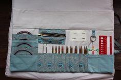 Tuto de l'étui pour kit d'aiguilles interchangeables KNIT PRO - La petite vie de So...