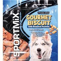 Sportmix - Premium Select Gourmet Biscuit Pouch. • Great Way To Reward Your Dog While Providing A Delicious Supplement To His Diet • Naturally Preserved and Oven-Baked With The Highest Quality Ingredients