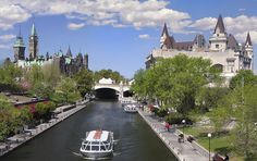 Rideau Canal, The Parliament of Canada, Ottawa. Rideau Canal, The Parliament of , Ottawa Canada, O Canada, Canada Travel, Canada Trip, Parliament Of Canada, Angeles, Best Campgrounds, Places To See, Images