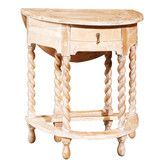 Found it at Wayfair - Gateleg Rope Twist End Table