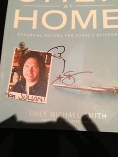 Best cookbook ever and signed by the chef!