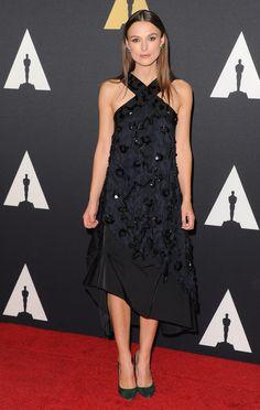 Keira Knightley wearing a Nina Ricci Spring Summer 2015 dress in Los Angeles. #ninaricci #ss15 #keiraknightley