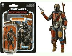 Star Wars Vintage Collection The Mandalorian Action Figure Hasbro - Kenner Jango Fett, Starwars Toys, Star Wars Action Figures, Ebay Search, Darth Maul, Black Series, Bounty Hunter, Obi Wan, Mandalorian