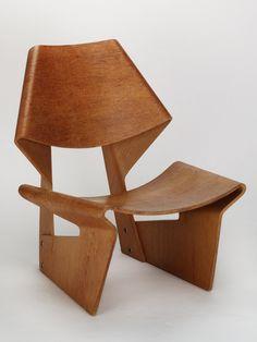 Grete Jalk Lounge chair 1963