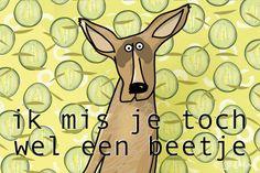 E-card: Ik mis je!