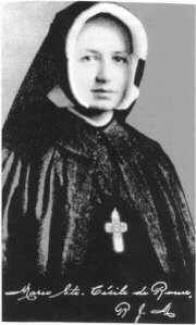 Bl. Dina Belanger, Roman Catholic Religious, died on 4 Sept in the Couvent de Jesus-Marie, Sillery , Quebec Canada. Feastday Sept 4.