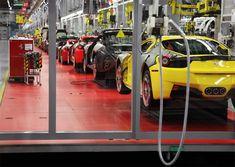 Visite de l'usine Ferrari