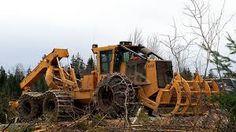 tigercat equipment - Google Search Logging Equipment, Heavy Equipment, Novel Characters, Old Tractors, New Trucks, Dog Life, Scale Models, Cute Puppies, Construction