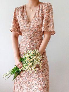 Modest Outfits, Dress Outfits, Fashion Dresses, Dress Up, Emo Fashion, Simple Dresses, Casual Dresses, Summer Dresses, Floral Dresses