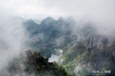 雨中天门山。 - 风姿摄影 - 桂林人论坛 - 桂林生活网