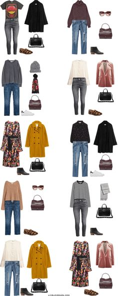 What to Pack for Bath, England Packing Light List Outfit Options 1-10 #travellight #packinglight #packinglist #travel #traveltips #capsule #capsulewardrobe #livelovesara
