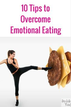 So many of us like to reward ourselves with chocolate or a glass of wine, but it can lead to an unhealthy relationship with food. Overcome emotional eating.