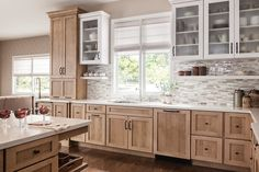 Schuler Cabinets Transitional Gallery - Other - Schuler Cabinetry Kitchen Redo, New Kitchen, Country Kitchen, Cheap Kitchen, Kitchen Ideas, Long Kitchen, 1950s Kitchen, Shaker Kitchen, Green Kitchen