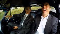 President Obama Stars in Jerry Seinfeld's 'Comedians in Cars Getting Coffee' - Yahoo Jerry Seinfeld, 1963 Corvette Stingray, Obama 2008, Presidente Obama, Malia And Sasha, Obama And Biden, Michelle And Barack Obama, Barrack Obama, Star Wars