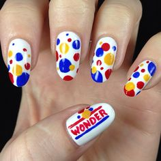 wonder bread by thedailynail  #nail #nails #nailart