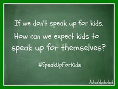 May 6 - 12 is National Children's Mental Health Awareness Week & the Child Mind Institute's #SpeakUpForKids campaign.