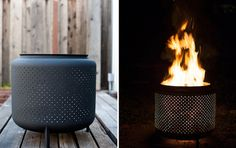 The One Hour DIY Metal Firepit - http://backyardsmadebetter.com/one-hour-diy-metal-firepit/