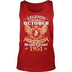 Legends Are Born In October 1951 T-Shirt #gift #ideas #Popular #Everything #Videos #Shop #Animals #pets #Architecture #Art #Cars #motorcycles #Celebrities #DIY #crafts #Design #Education #Entertainment #Food #drink #Gardening #Geek #Hair #beauty #Health #fitness #History #Holidays #events #Home decor #Humor #Illustrations #posters #Kids #parenting #Men #Outdoors #Photography #Products #Quotes #Science #nature #Sports #Tattoos #Technology #Travel #Weddings #Women