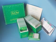 Vintage Trivial Pursuit Game; All Star Sports Edition 1981; Selchow and Richter Co. Subsidiary Card Set for Use with Master Game; Green Box by SpruceBox on Etsy